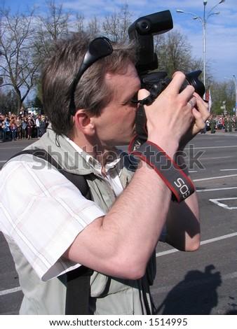 Photographer - stock photo
