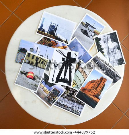 Photos of Industrial site - stock photo