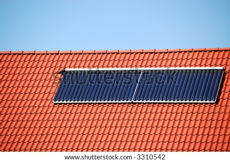 Photovoltaic on a roof