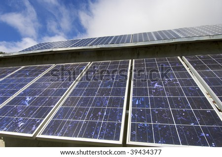photovoltaic panels for electric production