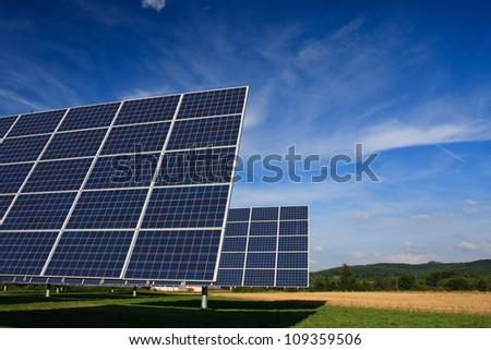 photovoltaics - stock photo