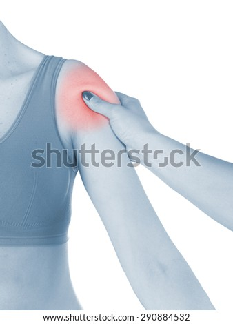 Physiotherapy treatment for shoulder pain, aches and tension. It  is also used for prevention and treatment in competitive sports.