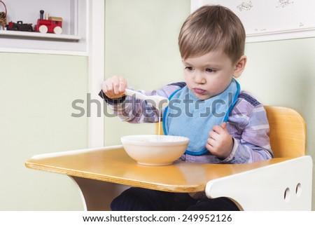 Picky eater - stock photo