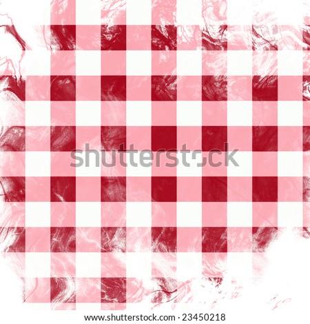 picnic cloth - stock photo