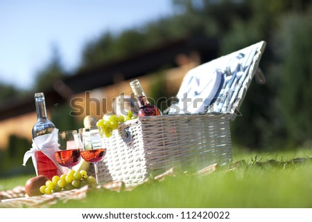 Picnic Time! - stock photo