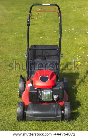 Picture from Lawnmower  - stock photo