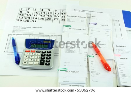 Monthly Expenses Stock Images RoyaltyFree Images  Vectors