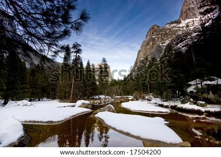 Picture of Yosemite Park - stock photo