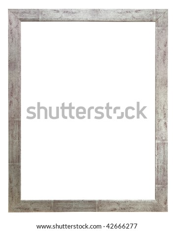 Picture photo frame to put your own pictures in - stock photo