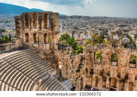 Picture taken in Greece, Greece - stock photo
