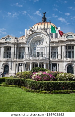 Pictures taken in Mexico City - stock photo