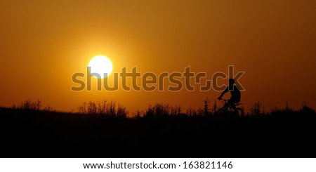 Picturesque landscapes mountains and fields, sea and rocks - stock photo