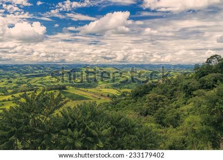 Picturesque view of Socorro in Brazil, South America  - stock photo