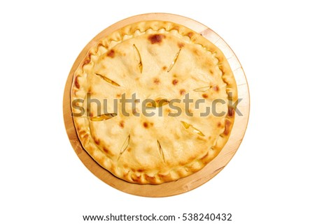 Pie isolated on white