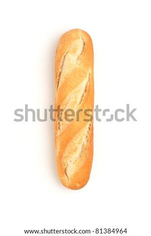 Piece of bread - stock photo