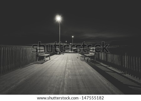 Pier Life - stock photo