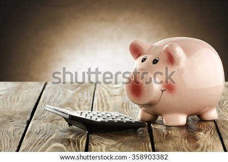 pig and wall space