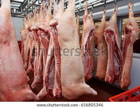 Allana meat processing plant