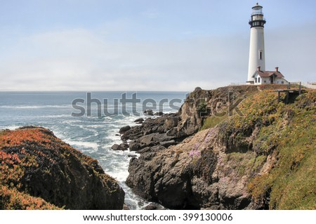 Pigeon Point Lighthouse, Pescadero, California