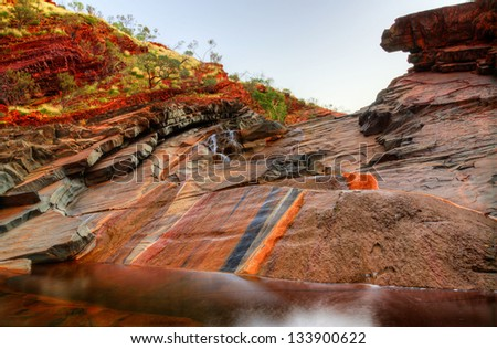 Pilbara Colours - stock photo