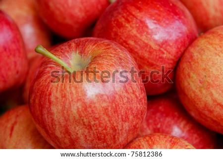 Pile of apple - stock photo