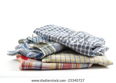 pile of boys boxer shorts - stock photo