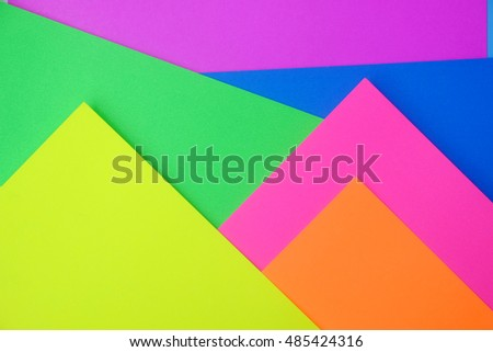 pile of color paper