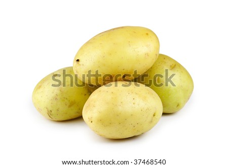Pile of nice potatoes