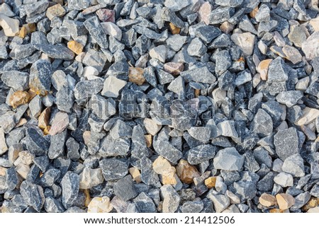 Pile of stones for background or texture - stock photo