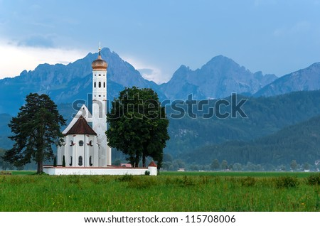 Pilgrimage church Saint Coloman Schwangau