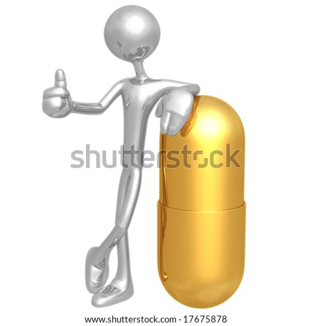 Pill Approval - stock photo