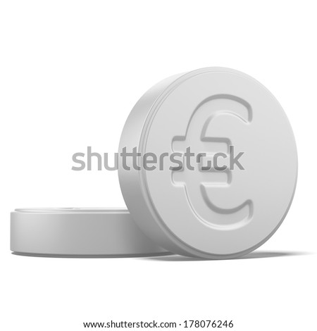 Pill with euro sign