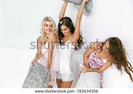 naked girls slumber party crashed by boys