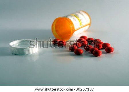 Pills. - stock photo