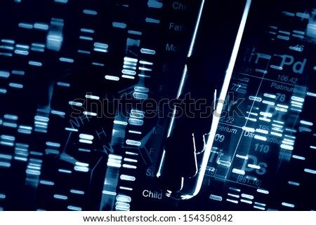 Dna Fingerprint Wallpaper Over Fingerprint Test Dna