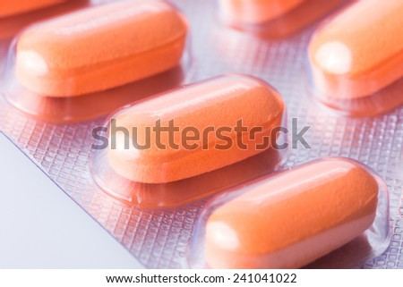 pills of medical - stock photo