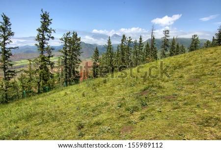 Pine Mountain - stock photo