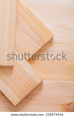 pine tree wooden boards close up construction concept