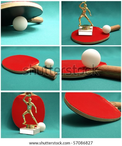 ping-pong - stock photo