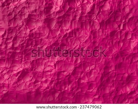 pink abstract background design. (randomly generated 3d surface.small cuts version.)