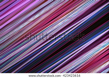 Pink and blue blur lines background