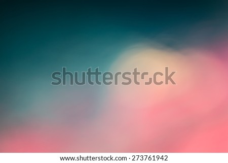 Pink and blue out of focus vintage background - stock photo