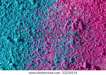 Pink and cyan texture - stock photo