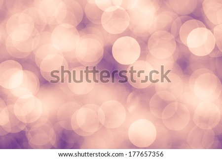 Pink and purple background with bokeh defocused lights, vintage colors - stock photo