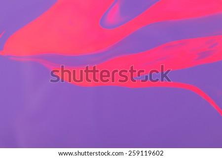 Pink and purple nail polish mix - stock photo