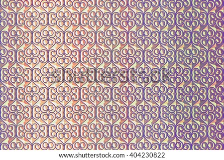 pink background with abstract relief pattern closeup - stock photo