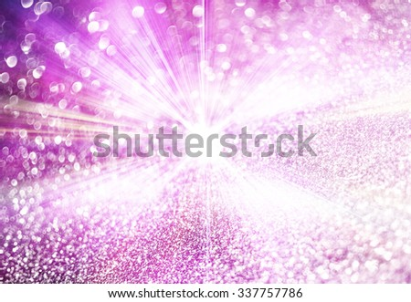 pink bokeh abstract background - stock photo