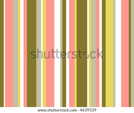 Pink, brown and yellow striped background