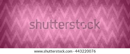 pink chevron background stripes, zig zag pattern and vintage texture - stock photo
