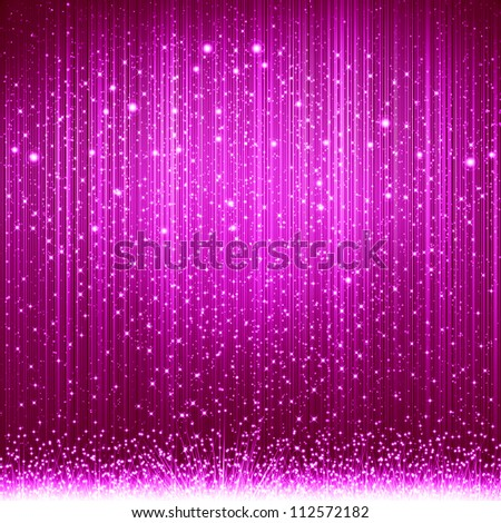 Pink christmas background - stock photo